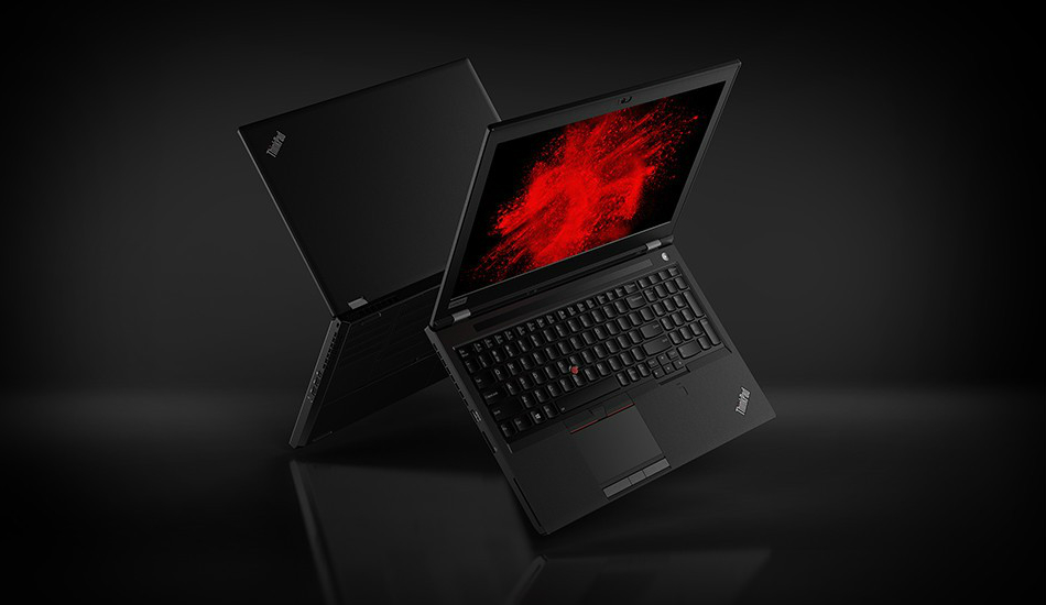 Lenovo introduces ThinkPad P1, P72 lightweight workstation notebooks