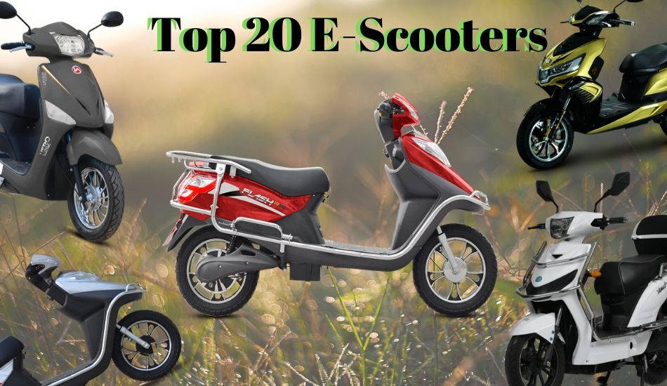 Top 20 Cheapest Electric Scooters available in India