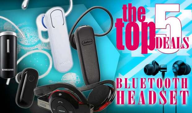 Top online deals on Bluetooth handsfree