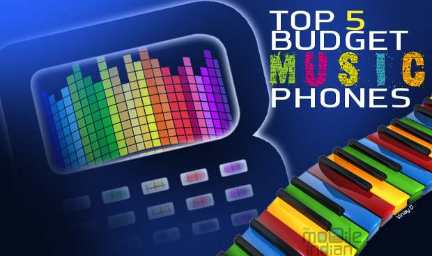Top 5 Budget music phones for August
