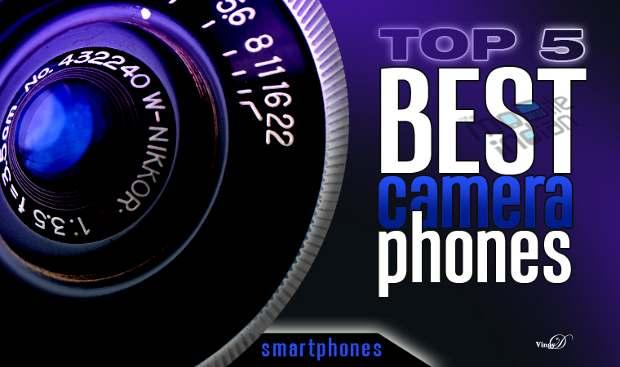 Top 5 camera smartphones