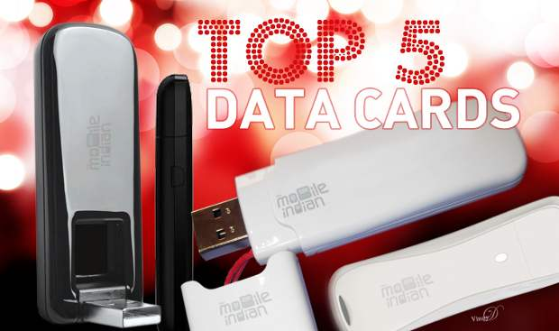 Top 5 Data cards in India