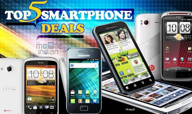 Top 5 smartphone, tablet deals of the week