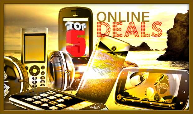 Top 5 online deals on cheapest Android smartphones