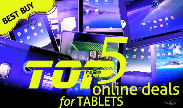 Top 5 online best tablet deals of the week