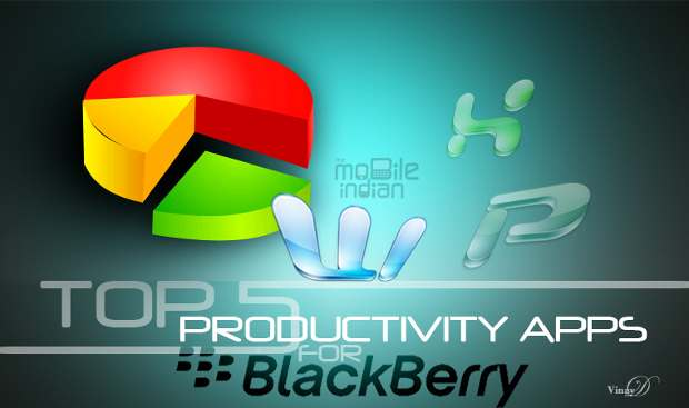 Top 5 free productivity apps for BlackBerry