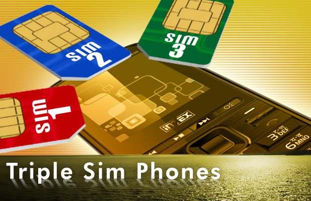 Triple SIM phones in India
