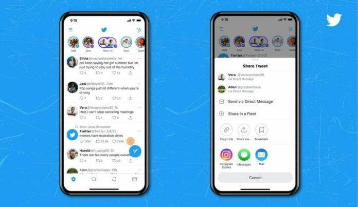 Twitter allows iOS users to share Tweets directly on Instagram stories