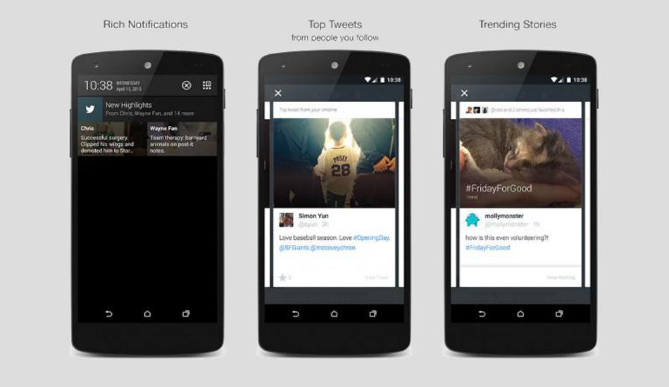 Twitter rolls out new 'Highlights' feature on Android