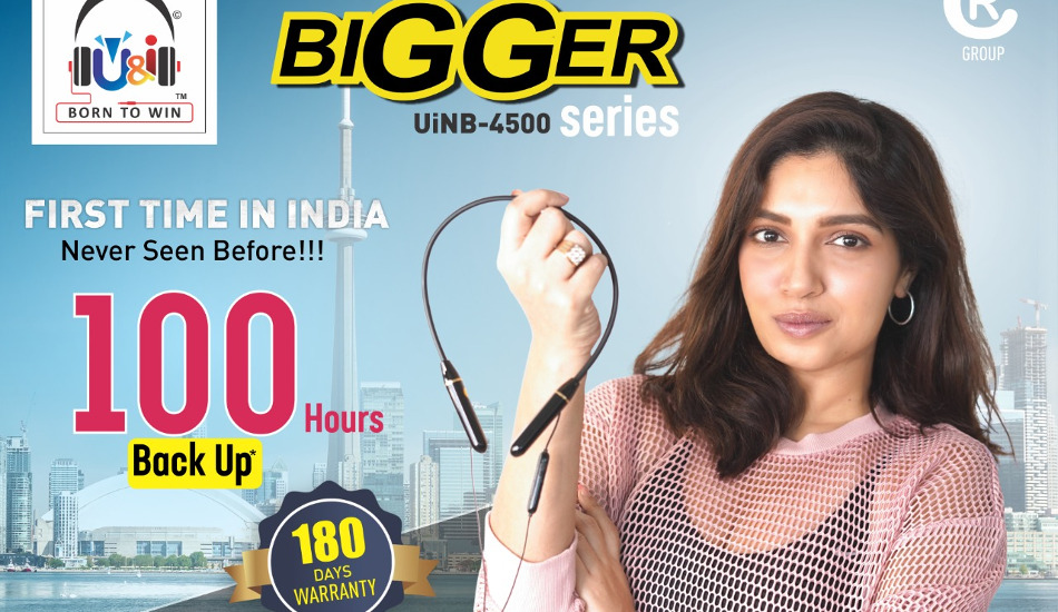 U&i 'Bigger' wireless neckband launched in India for Rs 3,499