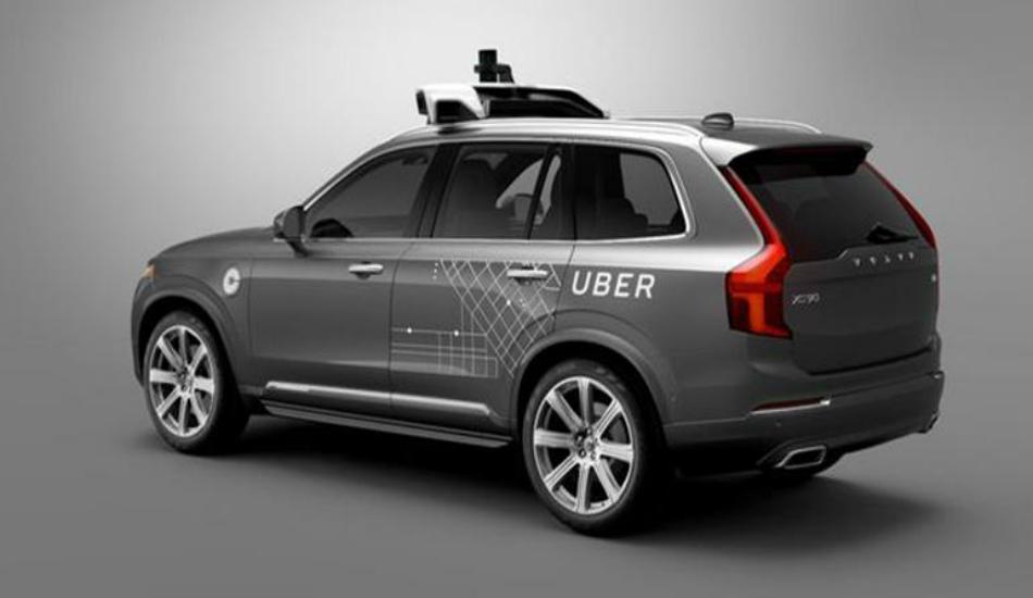 Self-driving Uber SUV kills a pedestrian
