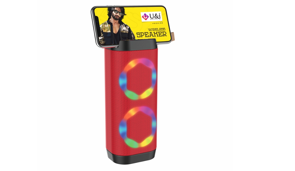 U&i launches Flame Portable Bluetooth Party speaker for Rs 1,499