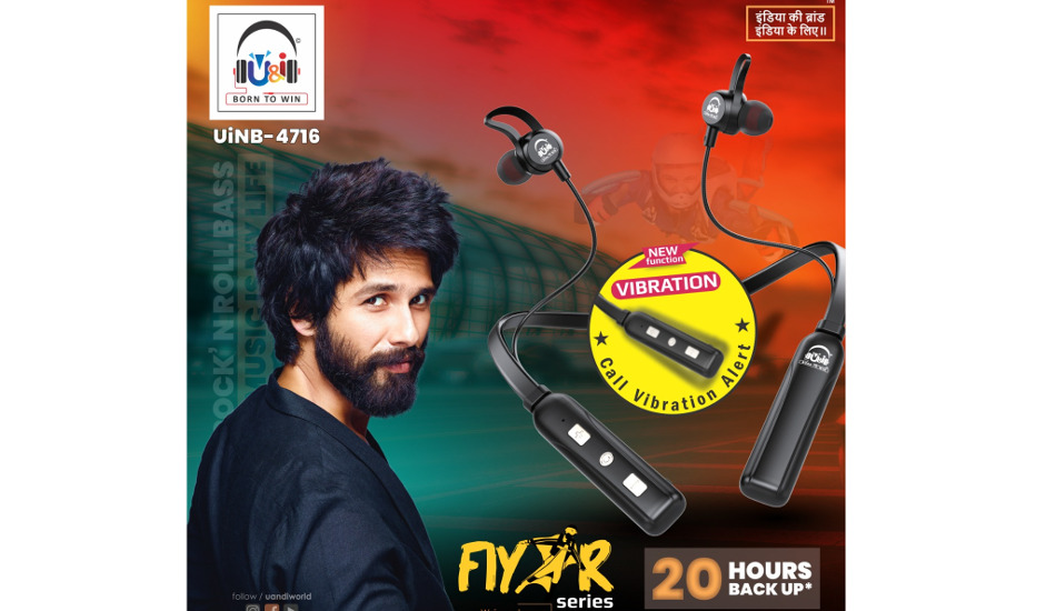 U&i launches Topper and Flyer wireless neckbands starting Rs 2,999