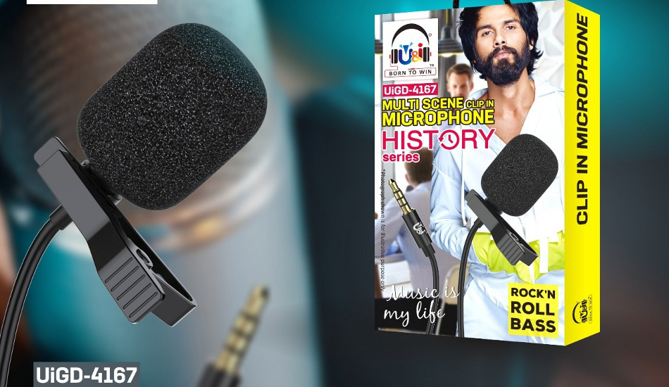 """U&i launches """"History Microphone"""" in India for Rs 599"""