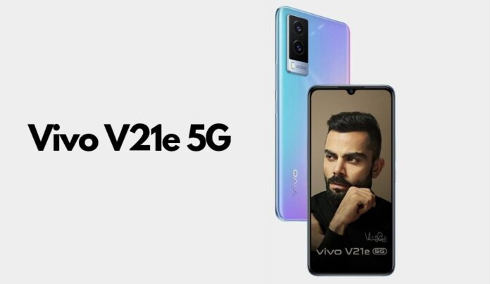 Vivo V21e 5G launched in India with Dimensity 700 SoC, 8GB RAM and more