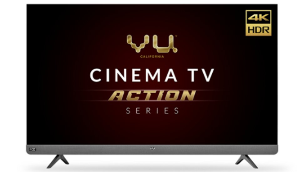 Vu Televisions launches the Vu Cinema TV  Action Series in 55 and 65 sizes