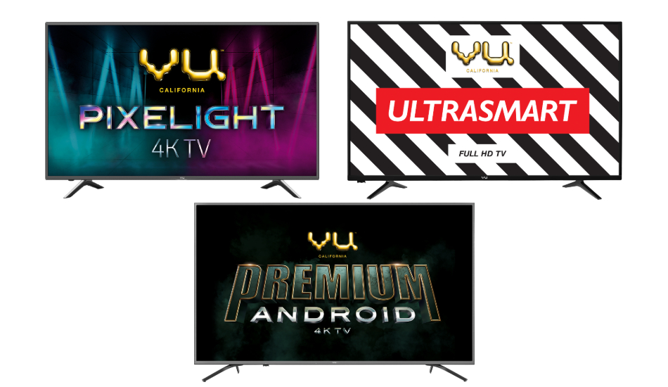 Vu Ultra 4K TV series launched in India at a starting price of Rs 25,999