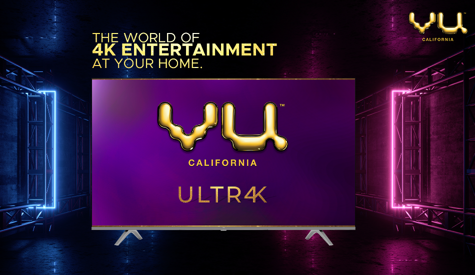 Vu Ultra 4K TVs to launch at a starting price of Rs 25,999