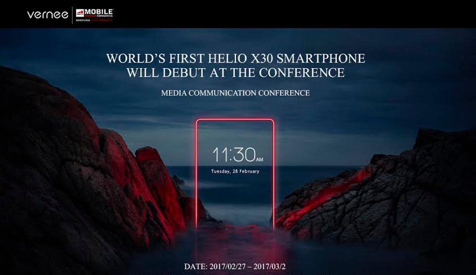 Vernee to unveil Apollo 2, Apollo X, Mars Pro, Thor E and Thor Plus smartphones at MWC 2017