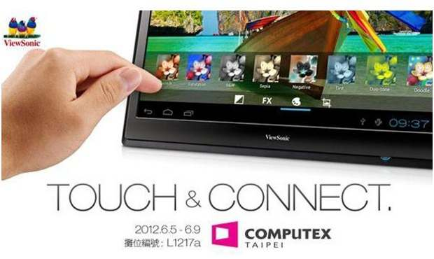 Viewsonic 22 inch tablet unraveled