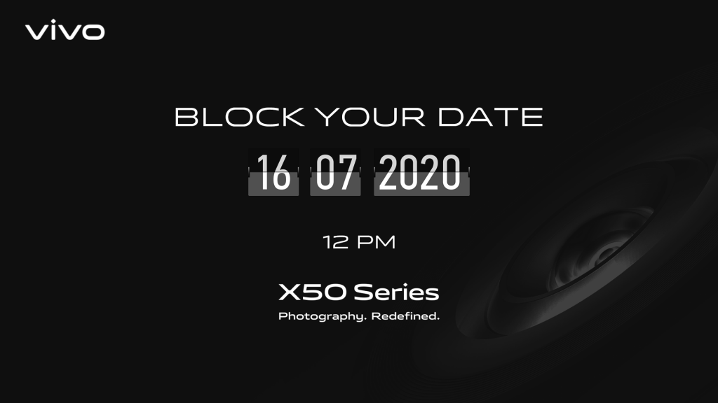 Vivo X50 series launching in India on July 16
