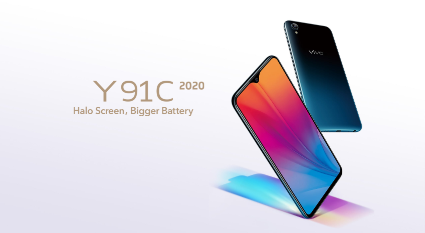 Vivo Y91C 2020 launched with 6.22-inch HD+ display and Helio P22