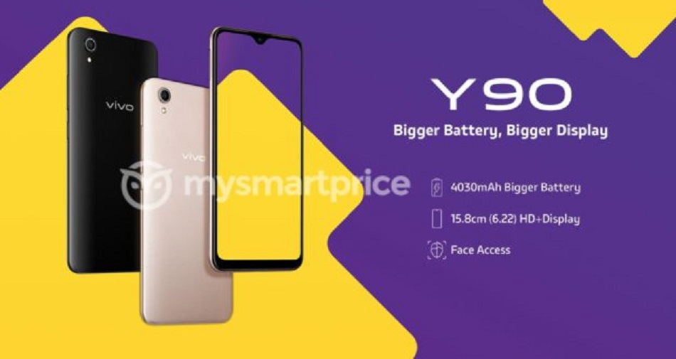 Budget Smartphone: Vivo Y90 launched in India, priced at Rs 6,990