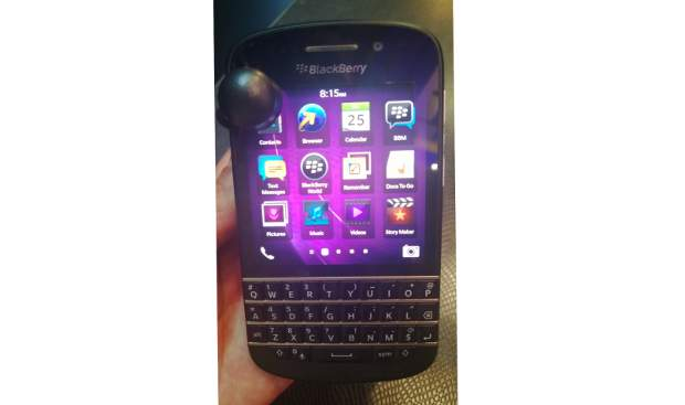 Hands on: BlackBerry Q10