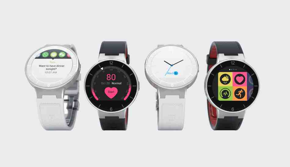 Alcatel Onetouch launches smart watch range for Rs 7,999