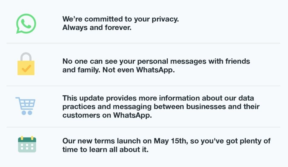 WhatsApp to show in-app banner for providing more information regarding new privacy policy