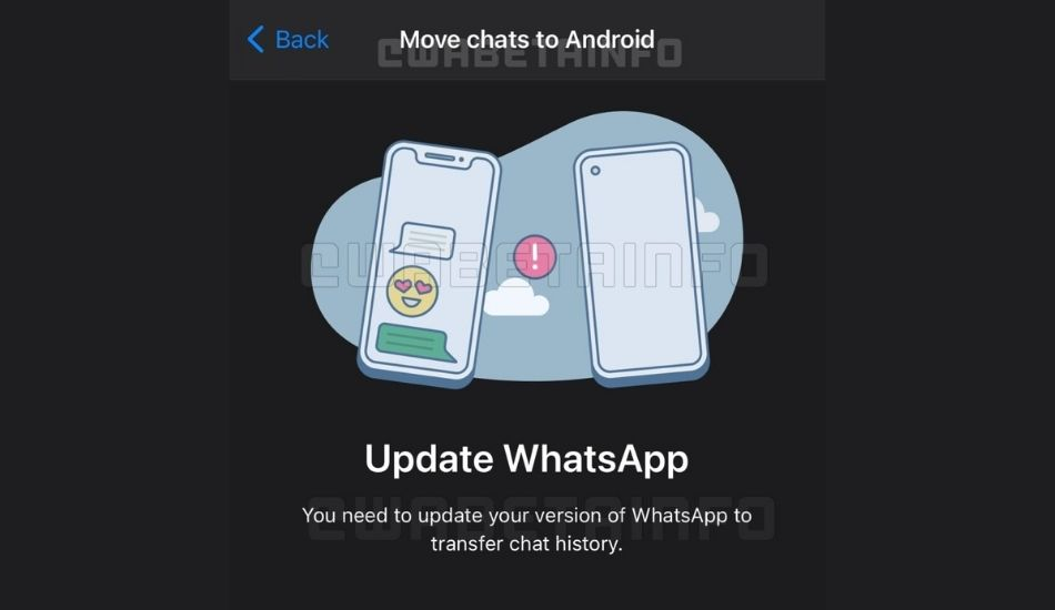 WhatsApp to allow chat migration between Android and iOS