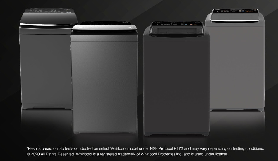 Whirlpool introduces new range of in-built heater washing machines in India