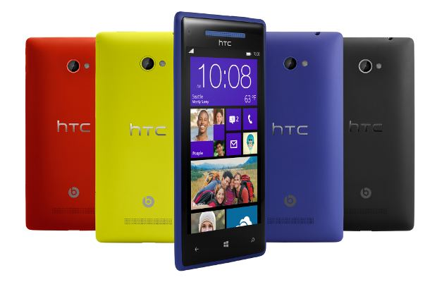 HTC brings two smartphones with Windows Phone 8 OS