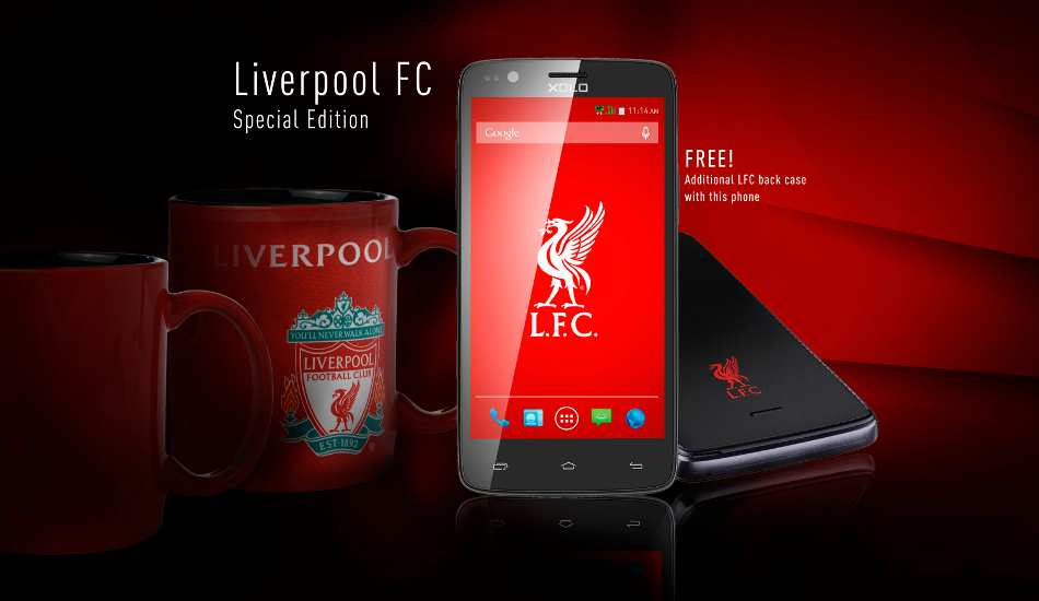 Xolo One Liverpool FC Limited Edition launched for Rs 6,299