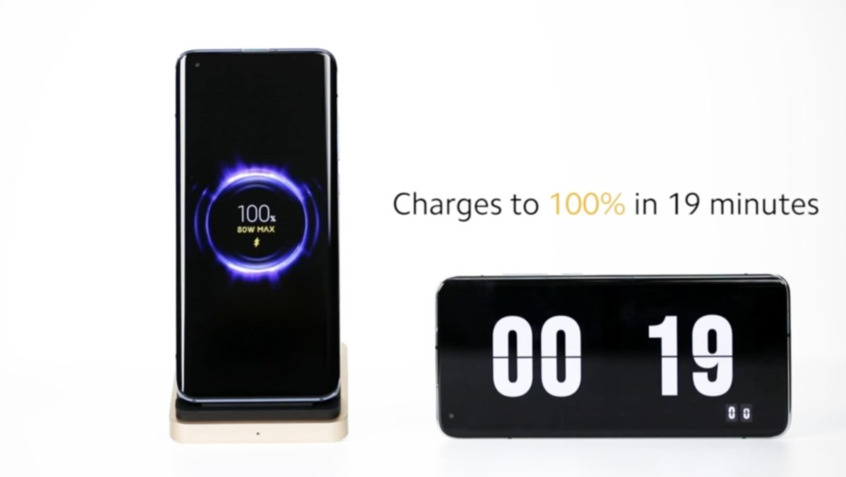 Xiaomi announces 80W Wireless Charging Technology, charges 0 to 100% in 19 minutes