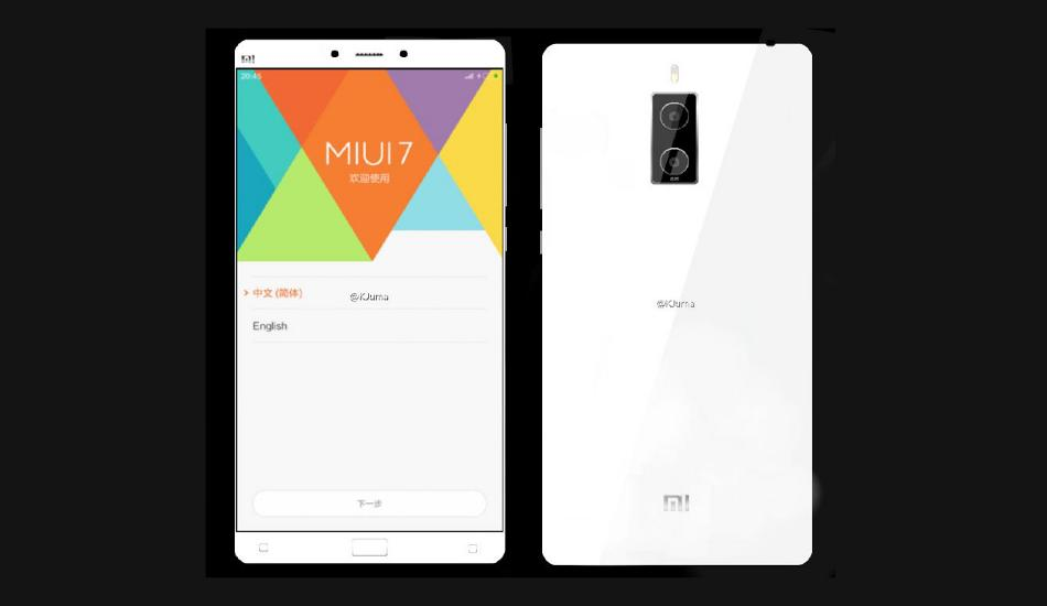Xiaomi Mi Note 2 with dual front camera, fingerprint scanner spotted