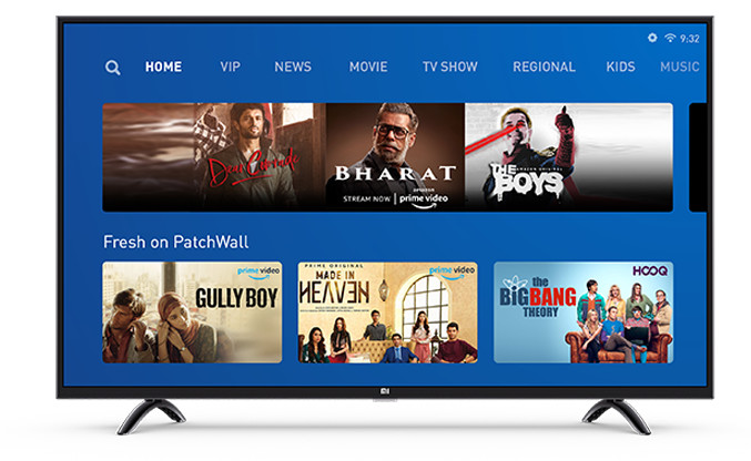 Xiaomi Mi TV 4X 55-inch 2020 Edition Smart TV launched in India for Rs 34,999
