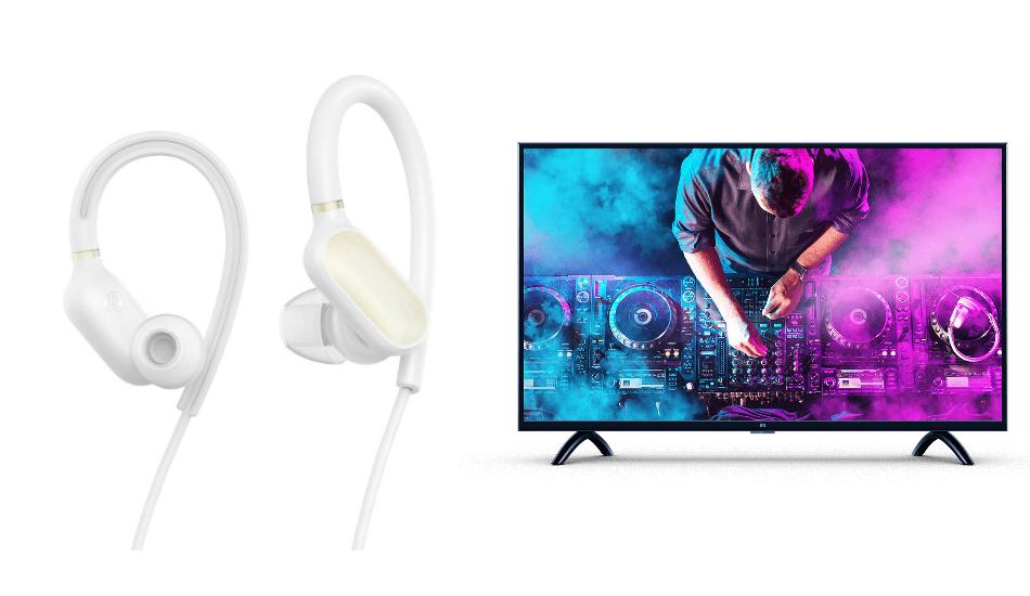 Xiaomi India launches Mi Sports Bluetooth Earphones Basic, 32-inch Mi LED TV 4A PRO