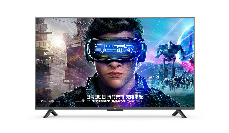 Xioami launches the 55-inch 4K HDR Mi TV 4S with Dolby Audio, AI voice remote