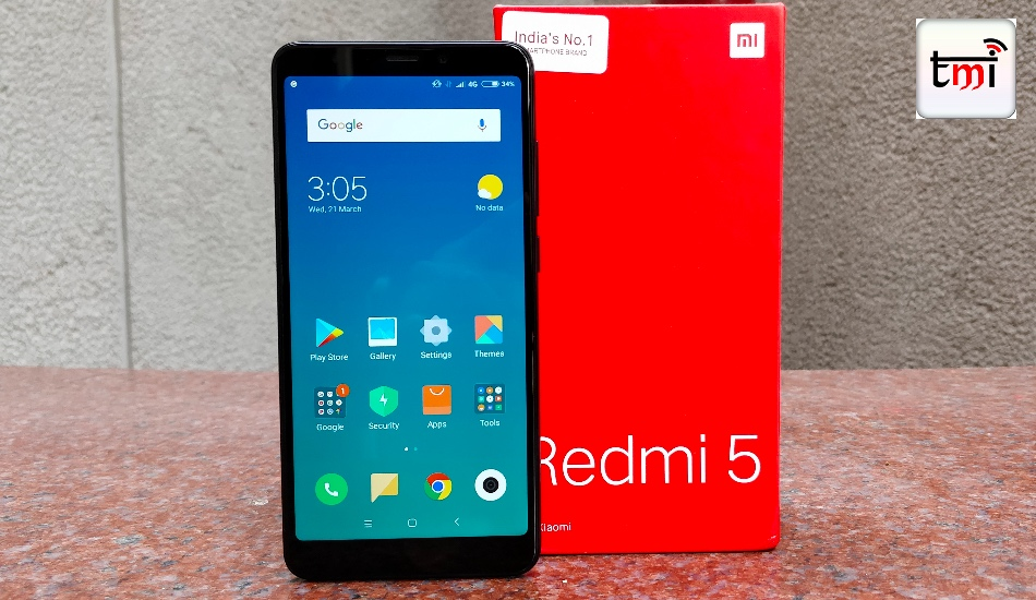 Xiaomi Redmi 5 First Impression : Younger sibling of the Redmi Note 5