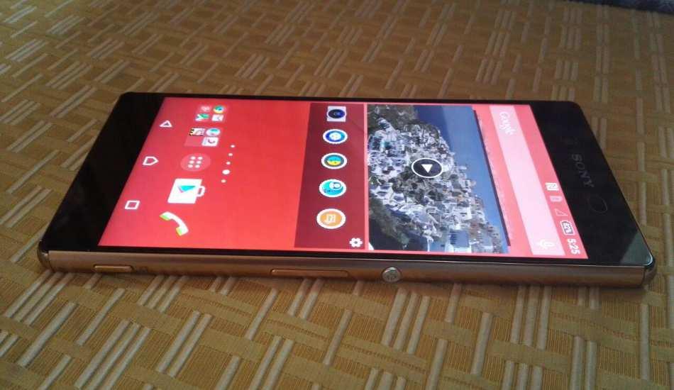 Sony Xperia Z3+ in pics