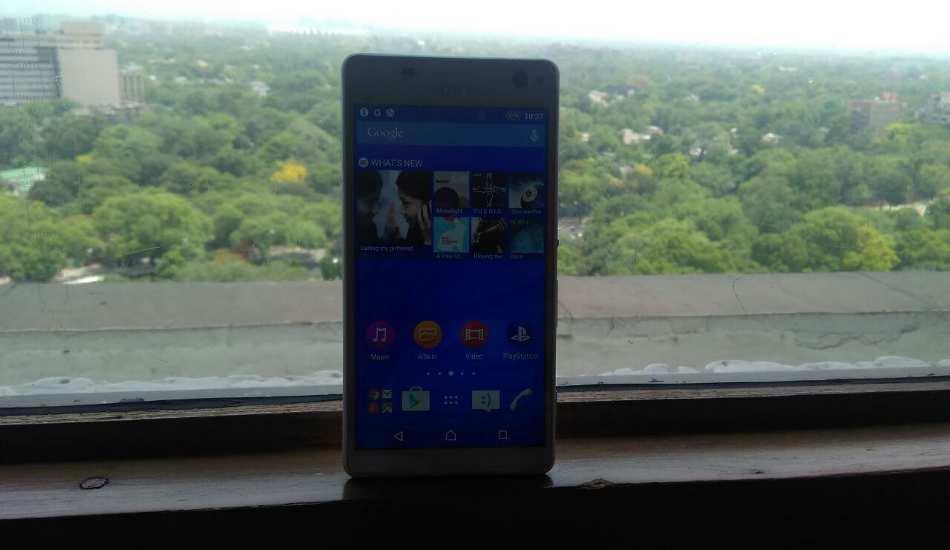 Sony Xperia C4 in pics
