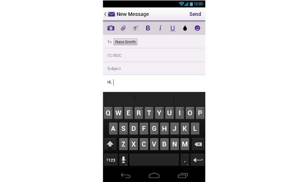 Yahoo! Mail app updated for iOS, Android