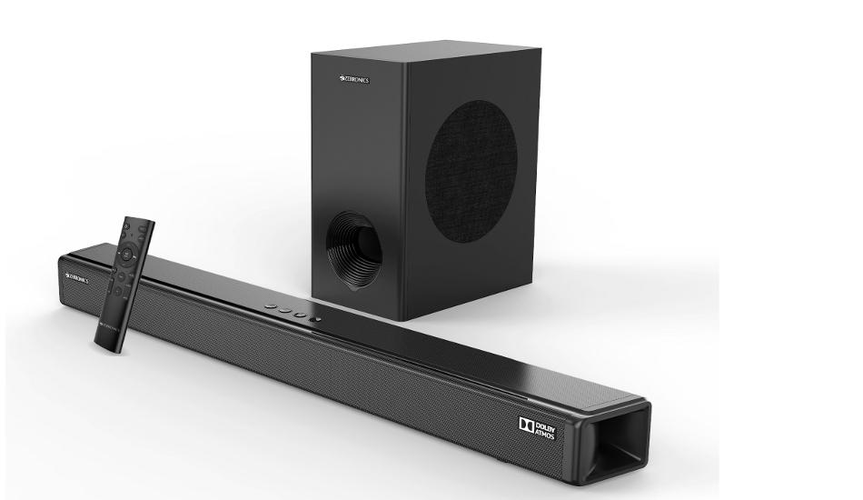 Zebronics Zeb-Juke Bar 9800 Pro Dolby Atmos Soundbar launched in India