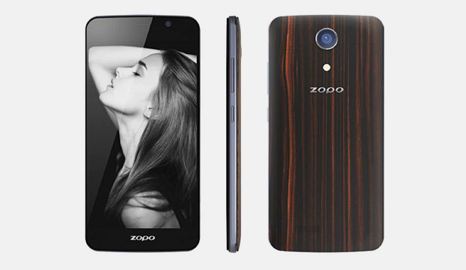 Zopo Speed 7C officially unveiled with wooden back covers