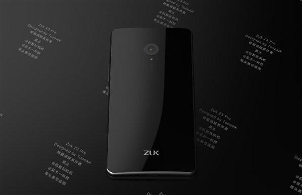 Zuk Z3 Pro concept images surface online