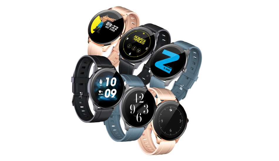 Zebronics ZEB-FIT2220CH smart watch launched in India