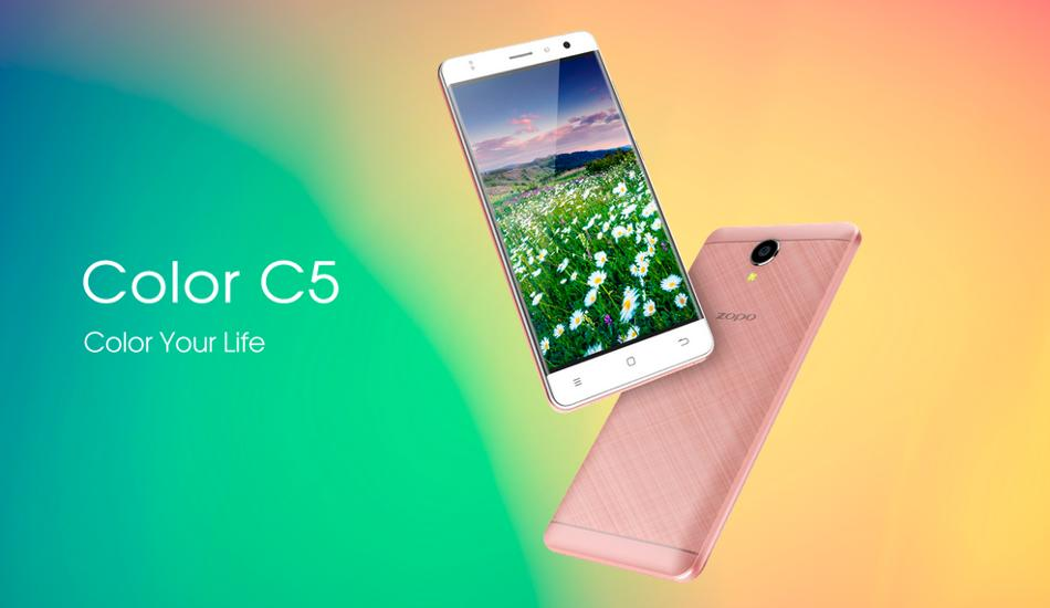 Zopo Color C5 with HD display, Android Marshmallow unveiled