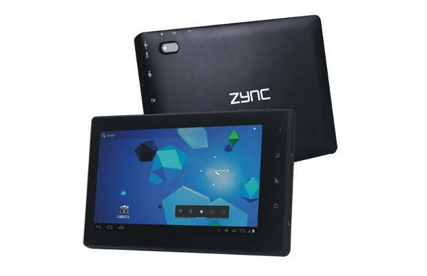 Zync launches 3G tablet for Rs 11,990