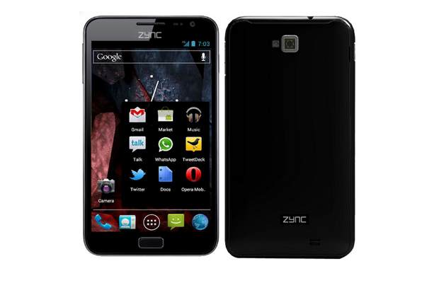 Zync Z5 with dual core processor available for Rs 11,990
